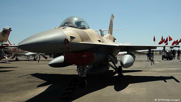 Kampfflugzeug F-16 Marokko (AFP/Getty Images)