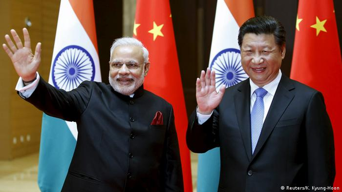 Staatsbesuch Indiens Premierminister Modi besucht China Xi Jinping (Reuters/K. Kyung-Hoon)