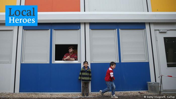 Flüchtlingsunterkunft Container