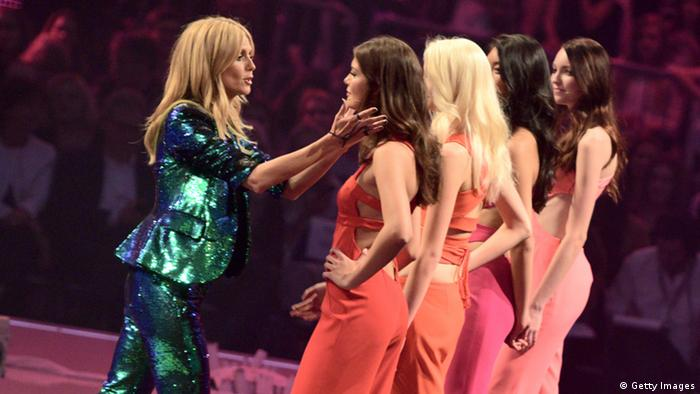 Deutschland Castingshow Germany's Next Topmodel Moderation Heidi Klum (Getty Images)