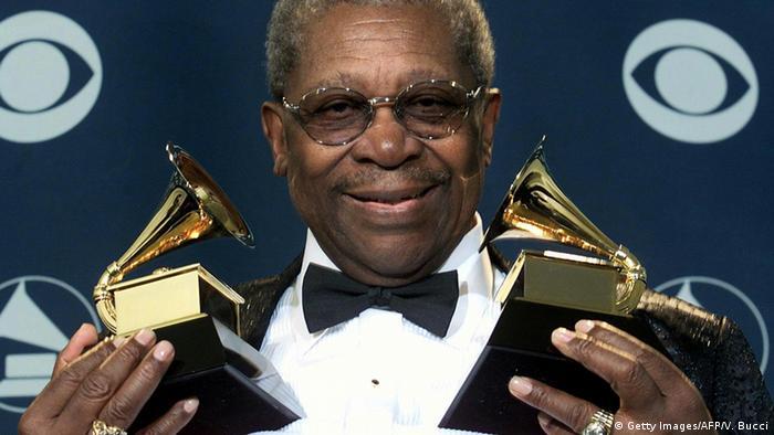 B.B. King mit Grammys