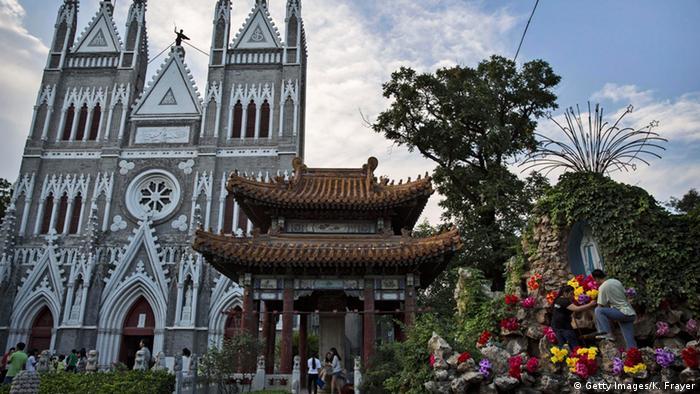 Xishiku Catholic Church in Beijing