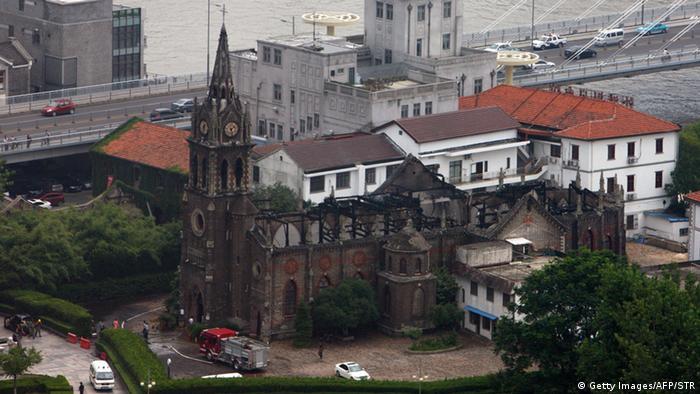China Katholische Kirche Ningbo Zhejiang Provinz