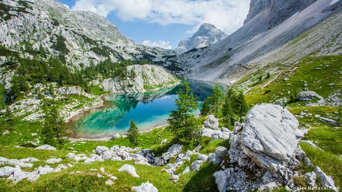 Parque Nacional Triglav, na Eslovênia