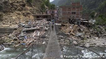 Nepal Erdbeben Folgen