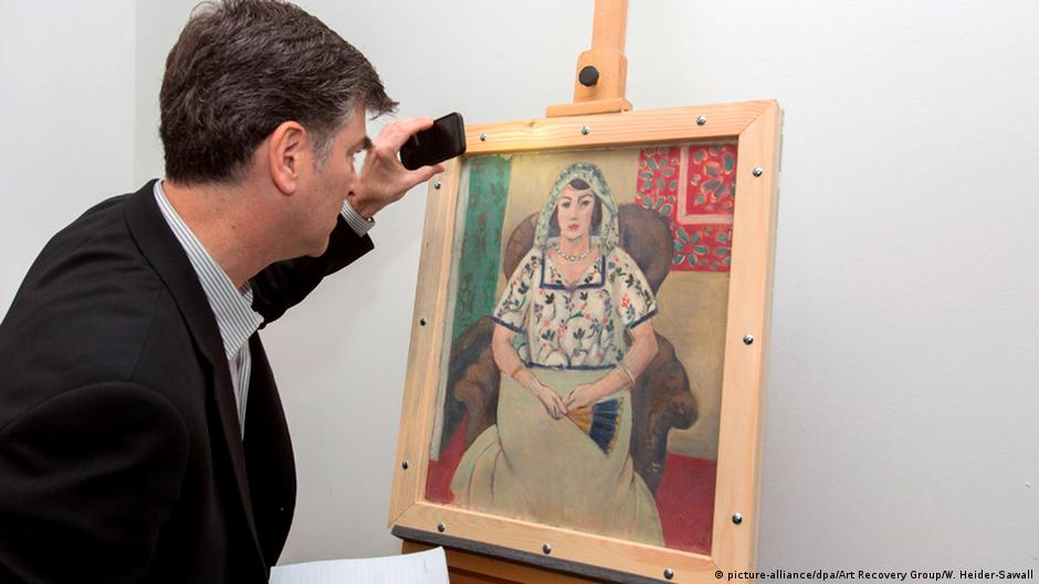 Matisse painting from Gurlitt's Nazi-looted art collection returned to owners   DW   15.05.2015