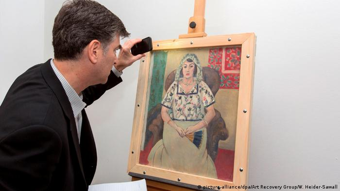 Matisse painting from Gurlitt collection, Copyright: Wolf Heider-Sawall/Art Recovery
