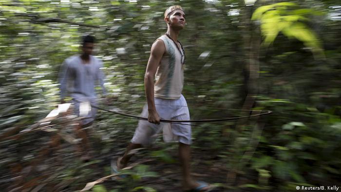 Bildergalerie Bogenschütze Amazonas