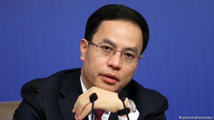 Li Hejun Chairman der Hanergy Holding Group Ltd.