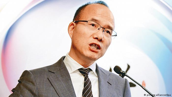 Guo Guangchang Chairman der Fosun International Ltd. Ma Huateng