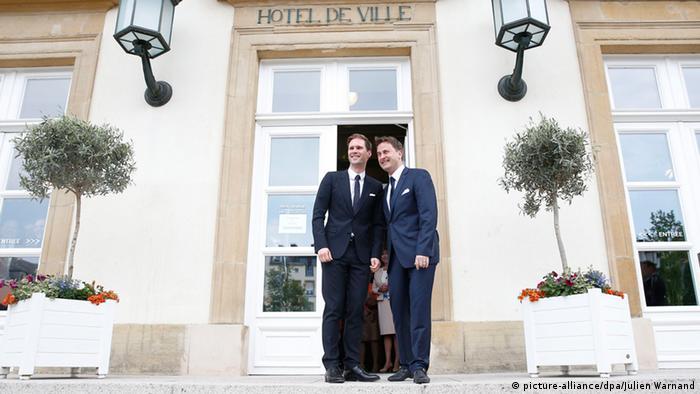 Luxemburg Premierminister Xavier Bettel heiratet Gauthier Destenay