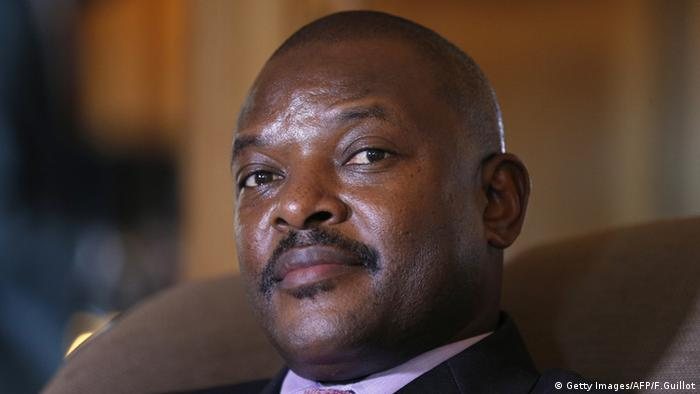 President Pierre Nkurunziza (Getty Images/AFP/F.Guillot)