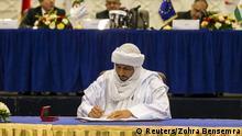 Konflikte Algerien Mali Unterzeichnung eines vorläufigen Friedensabkommens für Mali