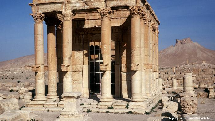 Temple of Baal Shamin, Palmyra.