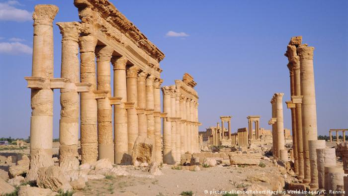 Antike Ruinen in der Welterbestadt Palmyra (Foto: picture alliance)