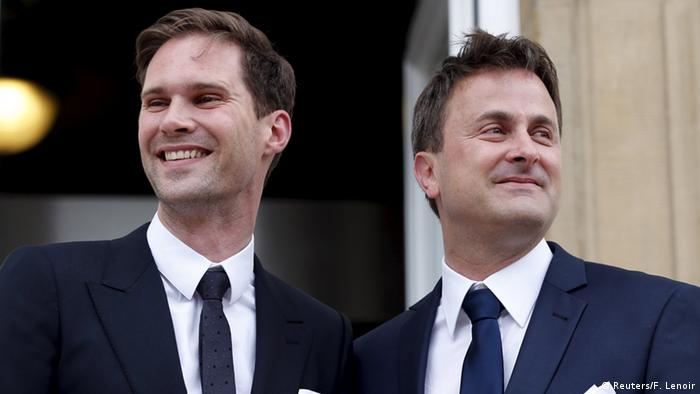Luxemburg Premierminister Xavier Bettel heiratet Gauthier Destenay