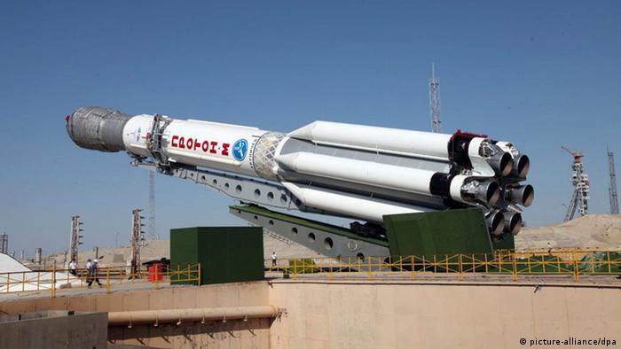 Bild zum Thema Russische Raumfahrtrakete mit Satelliten abgestürzt