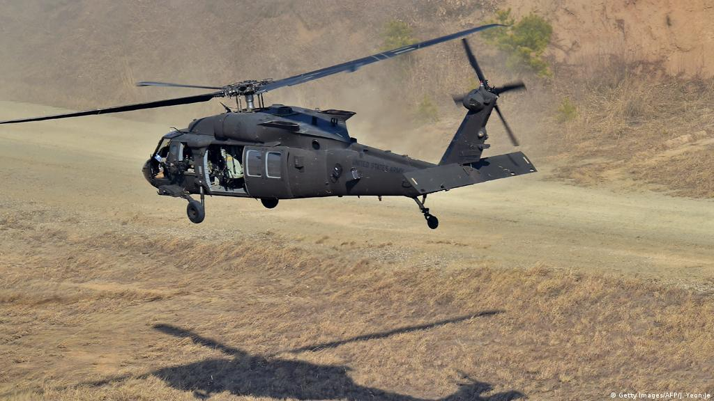 Egypt Several Dead In Sinai Helicopter Crash News Dw 12 11 2020