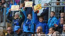 Bilefeld Fans Schild Aufstieg