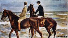 Zwei Reiter am Strand aus dem Schwabinger Kunstfund (vermutlich bis 1939 Sammlung David Friedmann, Breslau)