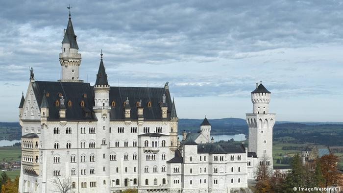 Neuschwanstein, arquitetura de superlativos