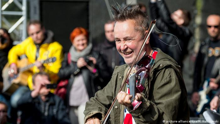 Jazz Nigel Kennedy Violinist (picture-alliance/dpa/M. Kulczynski)