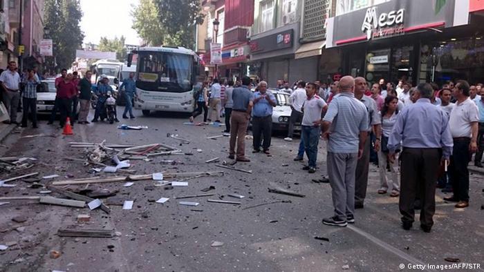 Türkei Anschlag in Mersin