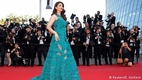 Indien Frankreich Aishwarya Rai Bachchan in Cannes
