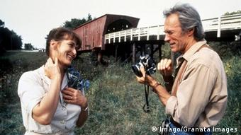 Meryl Streep and Clint Eastwood in the 1995 film 'Bridges of Madison County', Copyright: Imago/Granata Images