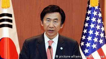 Südkorea Yun Byung-Se Außenminister
