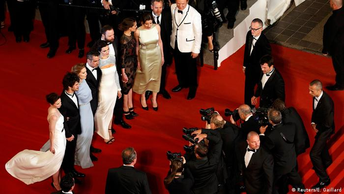 Red carpet in Cannes (Reuters/E. Gaillard)