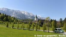 BdT Deutschland Schloss Elmau vor G7-Gipfel