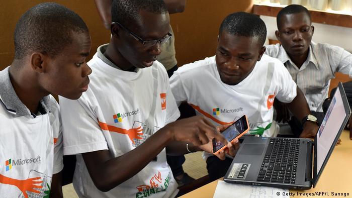 Symbolbild Afrika Medienentwicklung Digitale Medien