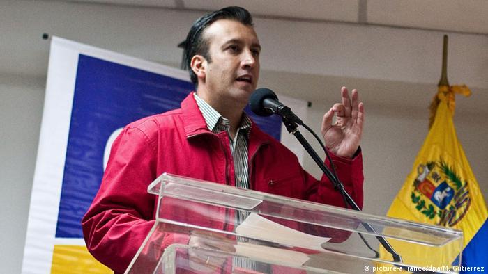 Venezuela Innenminister Tarek El Aissami (picture-alliance/dpa/M. Gutierrez)