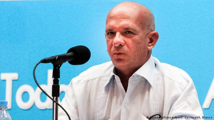 Venezuela ehemaliger Chef des Militärgeheimdienstes Hugo Carvajal (picture-alliance/dpa/El Nacional/A. Blanco)