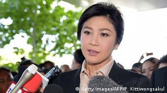 Yingluck Shinawatra wegen Korruption vor Gericht