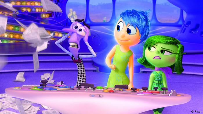 Filmstill Alles steht Kopf PIXAR Animationsfilm