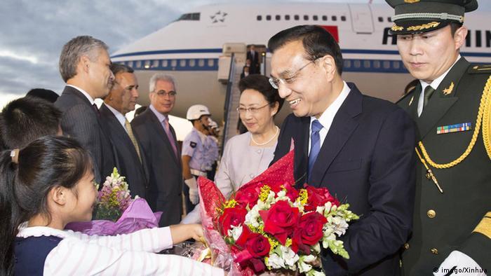 Li Keqiang e sua esposa chegam ao Brasil nesta terça-feira (19/05), primeira parada do chinês pela América Latina