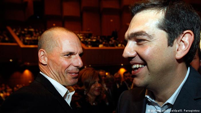 Varoufakis, Tsipras talking to each other