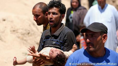 Irak Flüchtlinge aus Ramadi