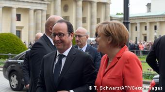 Merkel dhe Hollande duan të arrijnë sukses në konferencën për klimën në Paris