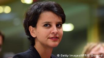Frankreich Bildungsministerin Najat Vallaud-Belkacem