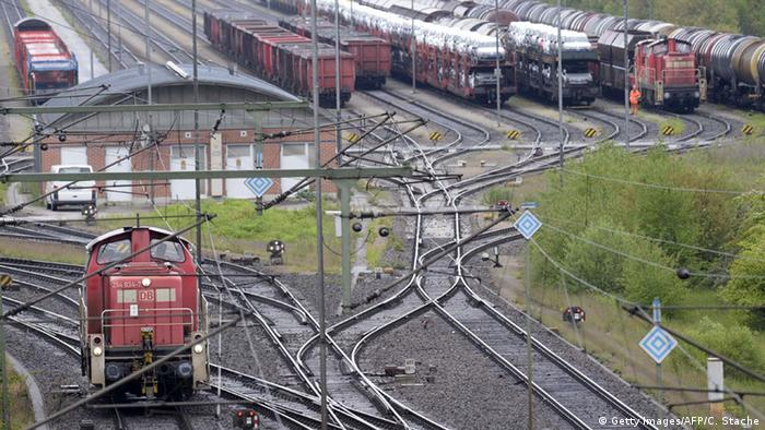 Deutschland Lokführer beginnen Streik im Güterverkehr