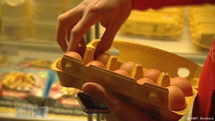 Caixa de ovos na Alemanha tem dez unidades