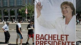 Wahlen in Chile - Michelle Bachelet