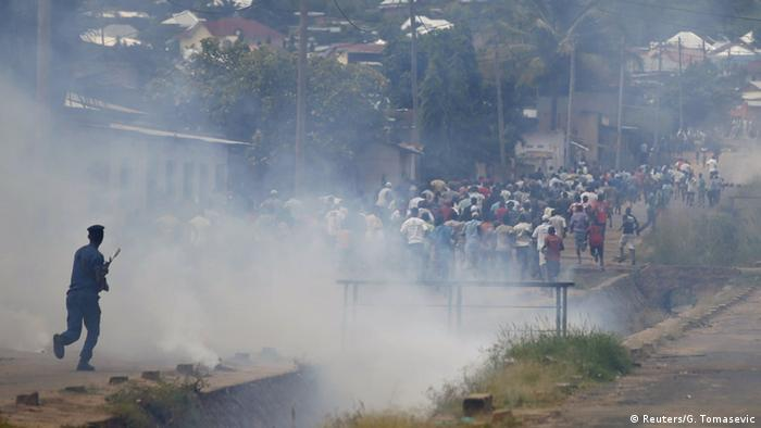 Proteste in Bujumbura (Foto: Reuters)