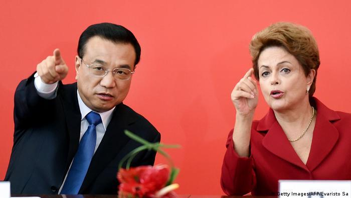 Brasilia Li Keqiang bei Dilma Rousseff