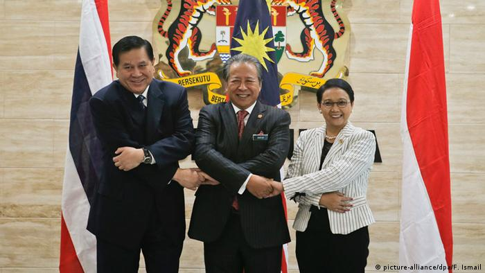 Malaysia Krisentreffen zu Bootsflüchtlingen in Südostasien