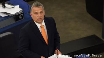 Viktor Orban. (Photo: EPA/PATRICK SEEGER)