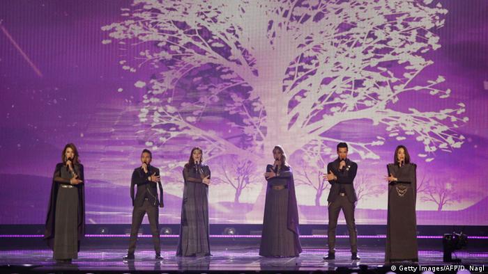 Участники из Армении на Евровидении